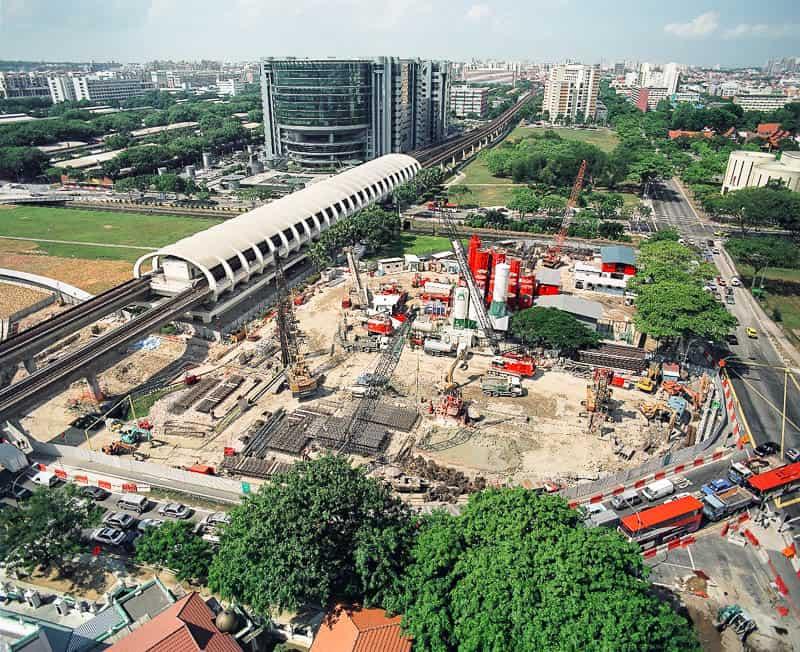 Paya Lebar Station, photo by Bachy Soletanche Singapore